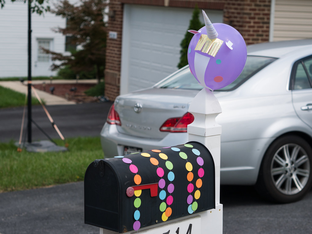 Mailbox decorations