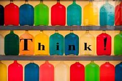 Thinking makes you human...I think.