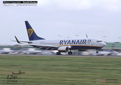 Ryanair EI-GDD Boeing 737-800 London Stansted Airport 21 October 2017 Storm Brian