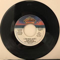JOAN JETT & THE BLACKHEARTS:I LOVE ROCK 'N ROLL(RECORD SIDE-A)