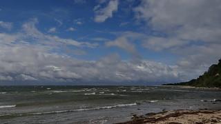 Die Insel Rügen ist ein Stück Erde mitten im Oceane in Gegenwart von Menschen 02350