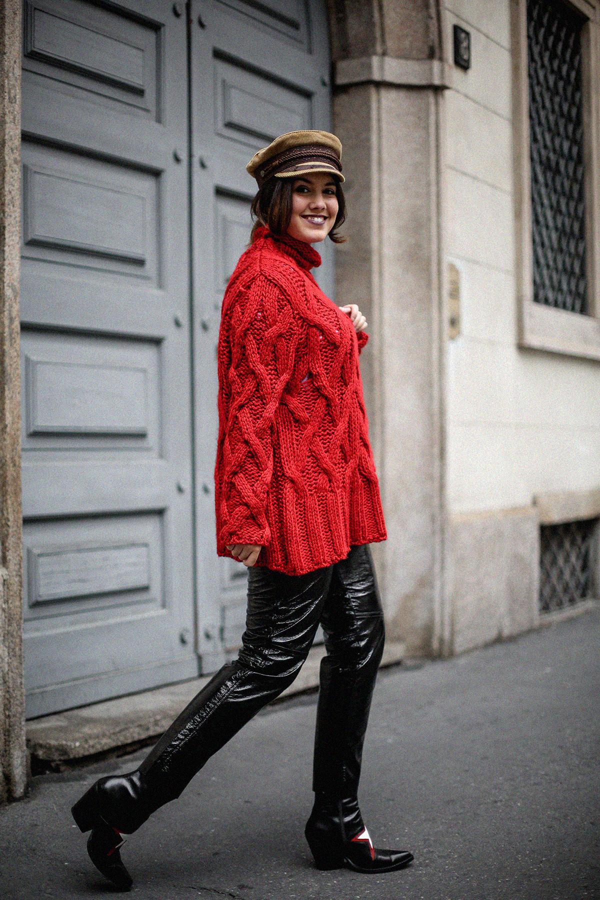 pantalones de charol look myblueberrynightsblog5
