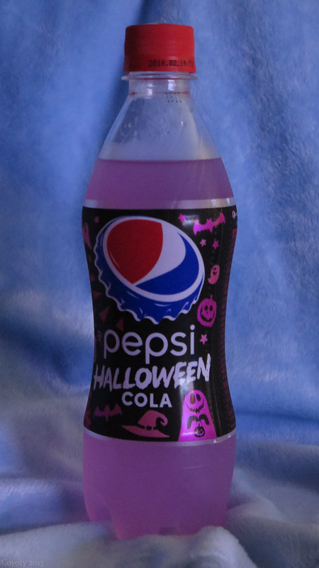 Japanese Pepsi Halloween Cola