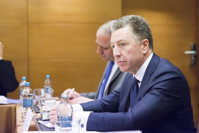 U.S. Spec Rep for Ukraine Kurt Volker meets with Rada deputies, October 28, 2017