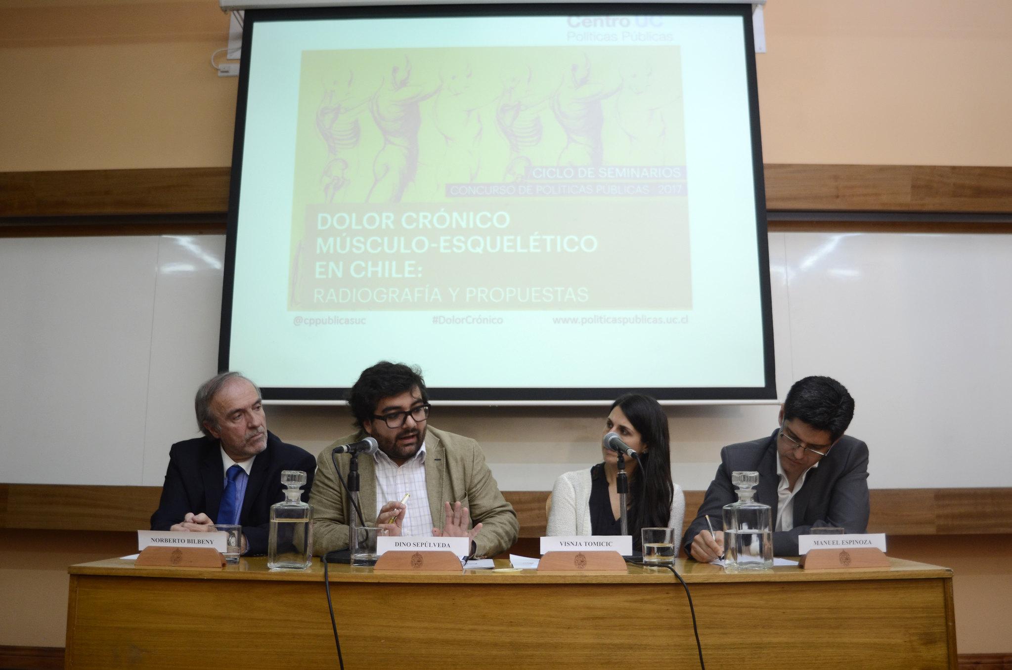 """Seminario """"Dolor crónico músculo esquelético en Chile: radiografía y propuestas"""""""