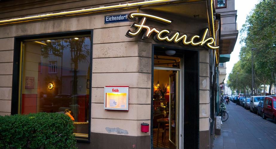Eten en drinken in Keulen: Café Franck, Ehrenfeld | Mooistestedentrips.nl