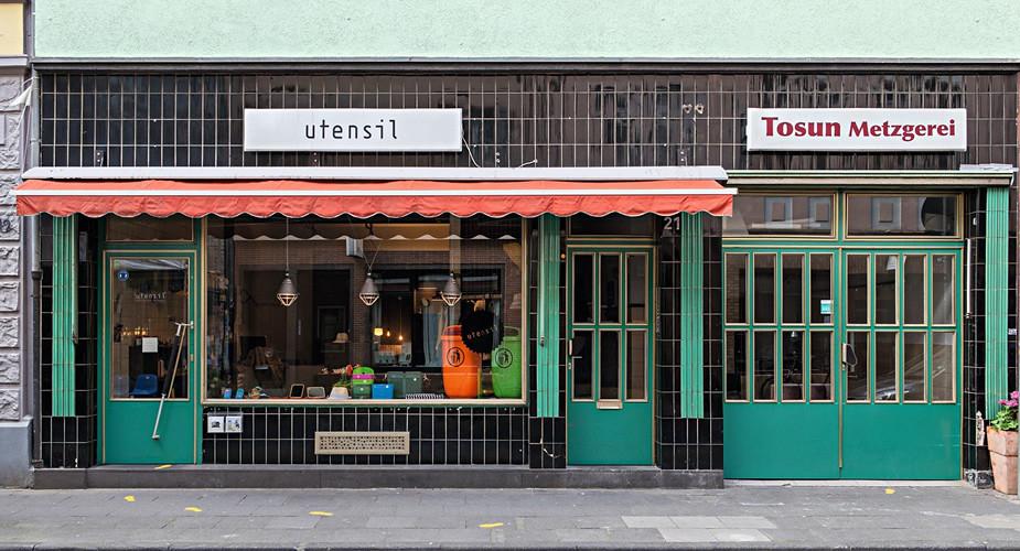 Winkelen in Keulen. Ehrenfeld: Utensil (foto met dank aan Utensil) | Mooistestedentrips.nl