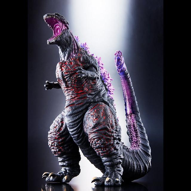 《怪獸王系列》 最大級作品 「哥吉拉2016 劇情高潮版本」!「シン・ゴジラ」怪獣王シリーズ ゴジラ2016 クライマックスver.