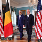 Photos of U.S. Secretary of State Rex Tillerson and top leadership in Washington, D.C., in November 2017.