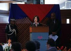 11.02 總統出席索羅門群島總督卡布依國宴,對卡布依總督的盛宴款待表達誠摯感謝