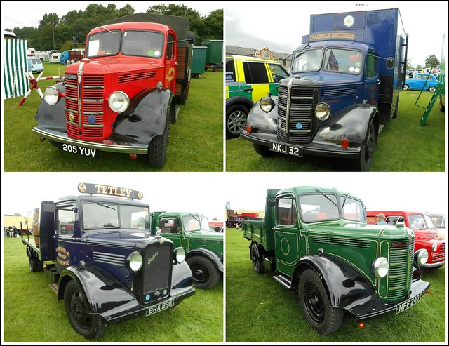 Collage of Old Bedford Trucks ..