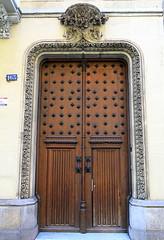 Iron-studded door, Barcelona
