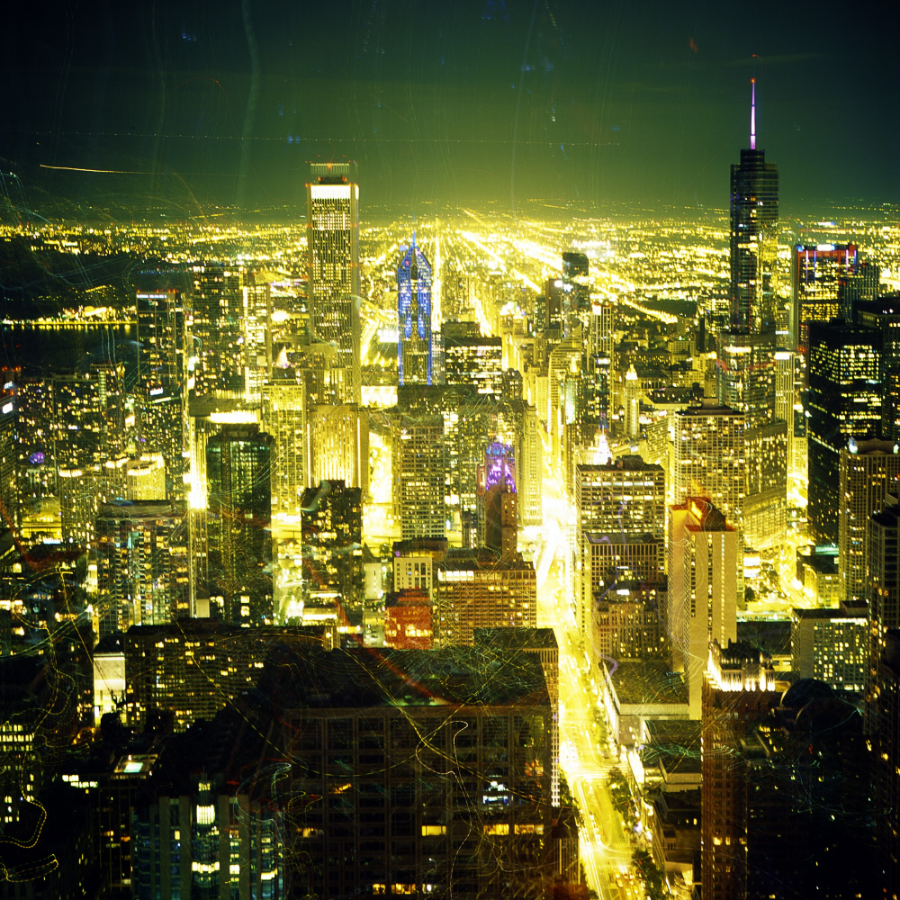 Chicago at Night, 2017