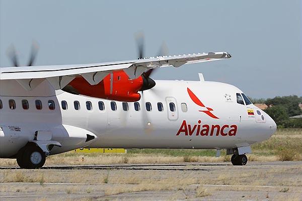 Avianca ATR 72-600 1 (Avianca)
