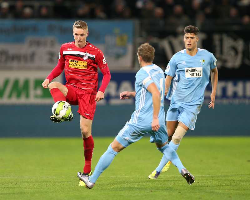 27.10.2017  Chemnitzer FC vs. FC Rot - Weiss Erfurt