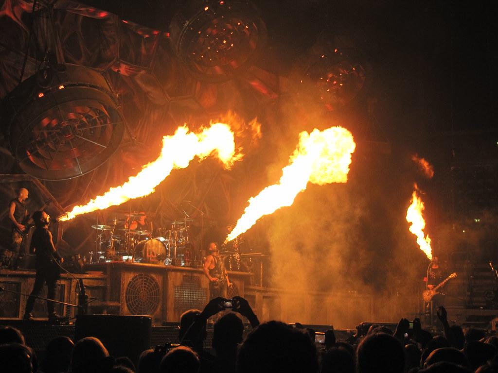 Rammstein Live 2011 Düsseldorf December 2011 Flickr