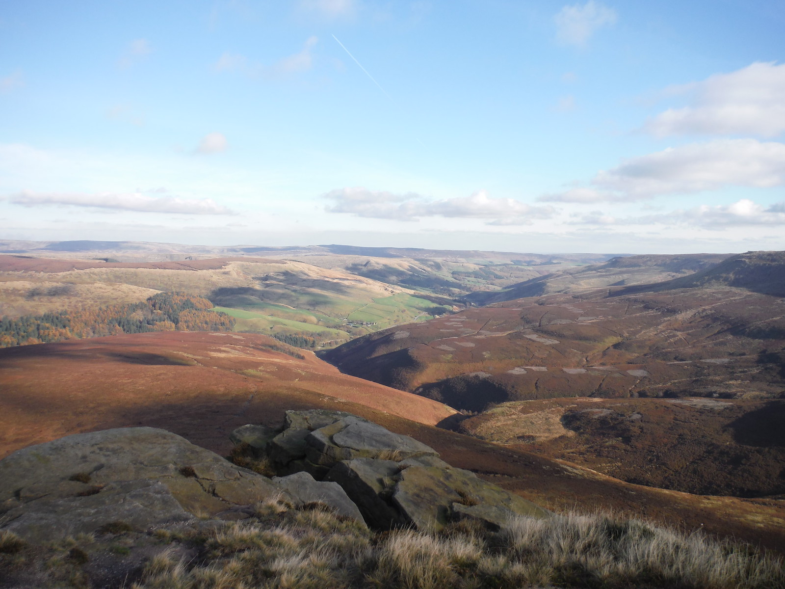 Fair Brook Clough and Seal Flats SWC Walk 304 - Kinder Scout Circuit (from Edale)