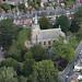 St John's Church in Woodbridge - Suffolk aerial view