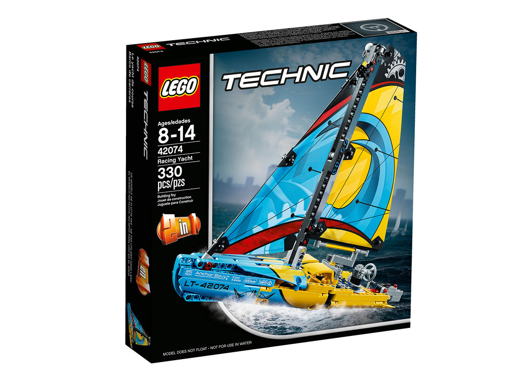 LEGO Technic 42074 - Racing Yacht