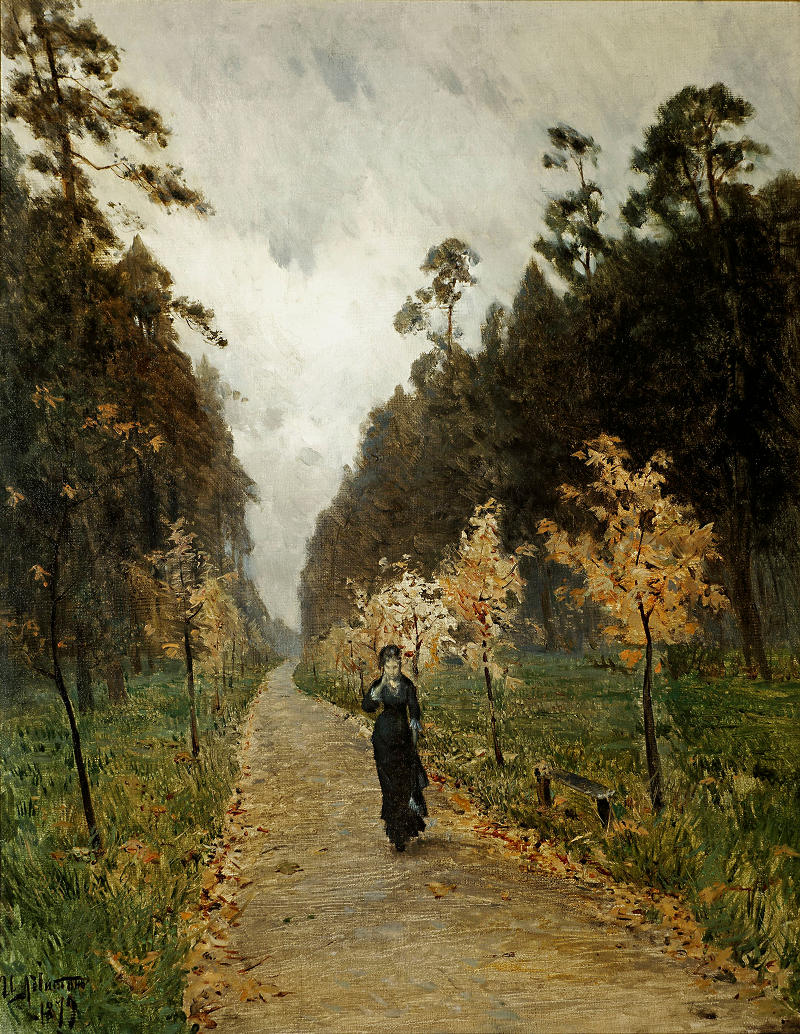 Autumn Day, Sokolniki by Isaak Levitan, 1879