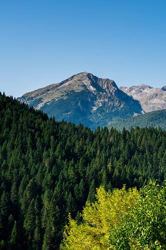 polithea trikala greece nature mountains trees green blue sky nikon nikond3400 sigma sigma1750