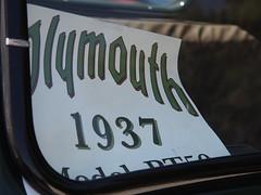1937 Plymouth PT25 Pickup 'K4863' 4