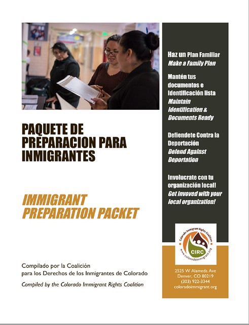 INFORMATION PACKETS FOR IMMIGRANTS