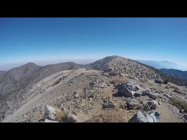 188 GoPro panorama video from the summit of West Baldy, elevation 9988 feet