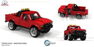 Unbreakable Toyota Hilux - TopGear