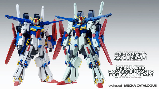 "MG Enhanced ZZ Gundam ""Ver.Ka"" (Complete Kit & Expansion Set)"