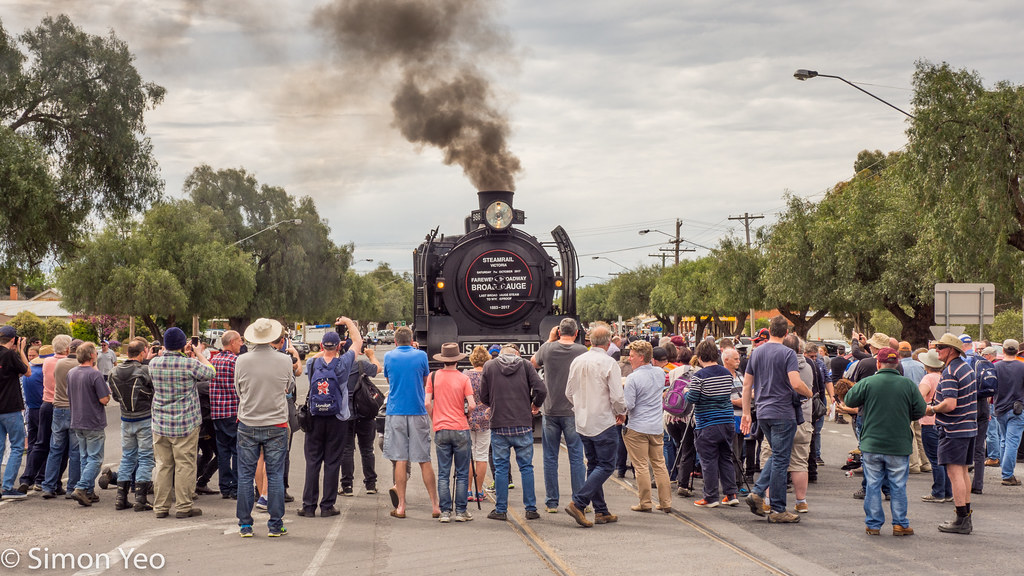 Last steam train to Wycheproof