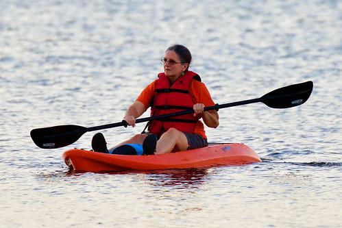 Sandra Burford Kayaking