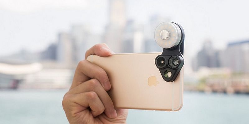 la RevolCam: Le premier accessoire multi-optiques à DELs pour les smartphones