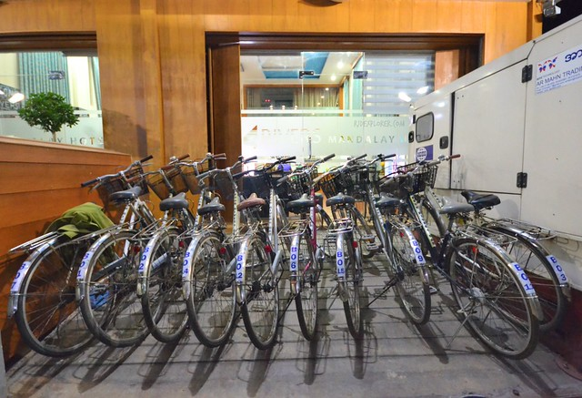 four rivers b&b mandalay bikes for rent