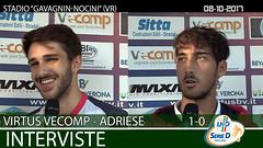 Virtus V.-Adriese del 08-10-17