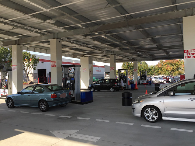 Brand new gas stations