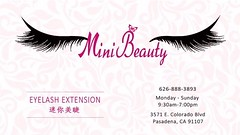 minibeauty business card