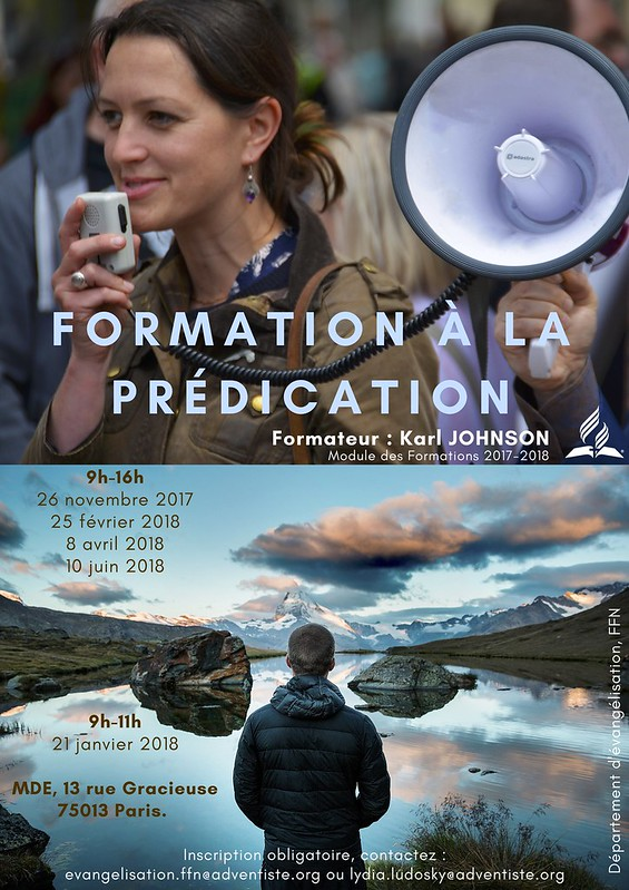 Affiche Formation Pre?dication K Johnson