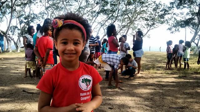 Crianças participaram de brincadeiras, jogos, oficinas pedagógicas e também fizeram política - Créditos: Comunicação/Movimento dos Trabalhadores Rurais Sem Terra