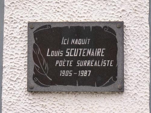La maison natale de Louis Scutenaire, poête ami de Magritte