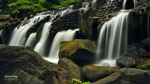 bumbunganecopark river waterfall falls landscape outdoor rocks water waterscape longexposure waterblur ndfilter