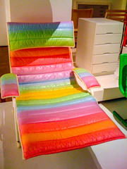 Colourful chair, National Museum, Stockholm