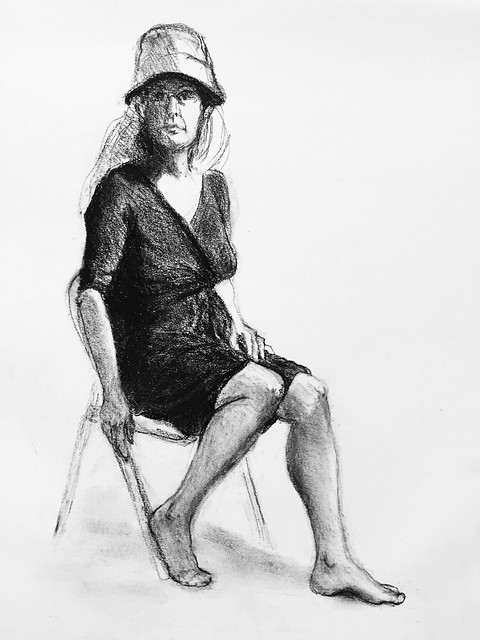 Drawing of Shannon Kringen