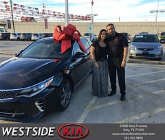 Happy Anniversary to Emily on your #Kia #Optima from Rick Hall at Westside Kia!