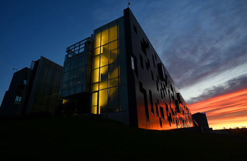 perimeterinsitute architecture city waterloo ontario canada learning education theoreticalphysics stevenhawkings science building earlymorning sunrise beautifulsky reflections clouds morning beautiful pretty prettysky highereducation gorgeous lovely