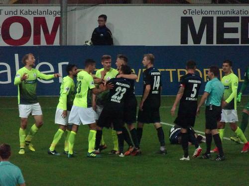 SC Paderborn 2:1 F.C. Hansa Rostock