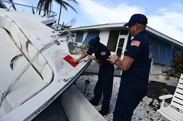 Coast Guard, EPA assess displaced vessels in the Florida Keys