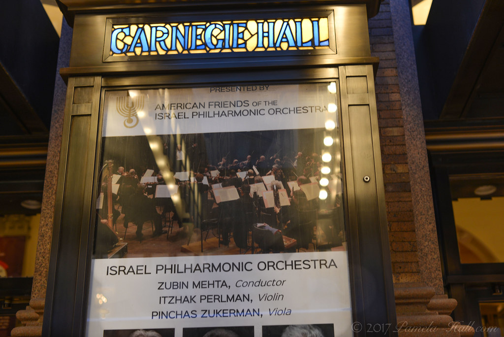 Anti-Zionists Protest Israel Philharmonic at Carnegie Hall – again