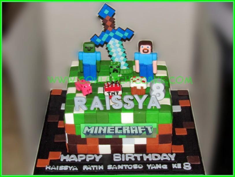 Cake Minecraft RAISSYA