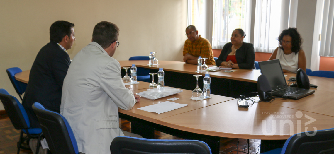 Delegação da Universidade de La Laguna apresenta Programa Erasmus Plus